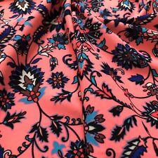 Nylon Lycra Print 4 way Stretch Nylon Lycra Spandex Swimwear By Yard