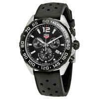 Tag Heuer Formula 1 Chronograph Black Dial Men's Watch CAZ1010.FT8024