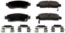 Disc Brake Pad Set-ProSolution Semi-Metallic Brake Pads Rear Monroe FX883
