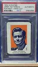 1952 Wheaties #OT11B Jimmy Patterson Diving/Portrait PSA Auth