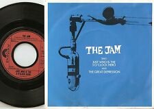 """THE JAM """"SING""""JUST WHO IS THE 5 O`CLOCK HERO GERMAN DUTCH 45+PS `82 MOD REVIVAL"""