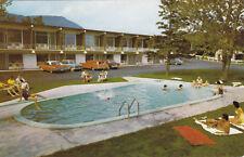Motel Le Fani CARLETON-SUR-MER Quebec Canada Advertising Postcard