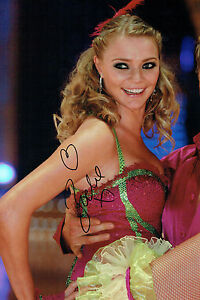 Jodie KIDD SIGNED Autograph 12x8 SEXY Photo AFTAL COA Strictly Come Dancing