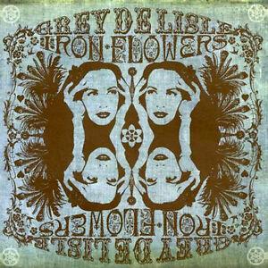 """Grey Delisle """"Iron Flowers"""" CD + Bonus """"Making-Of"""" DVD ~ Limited Issue, Sealed!"""