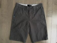 NWOT Men's HURLEY Flat Front Casual/Walking Cargo Shorts  Size 28