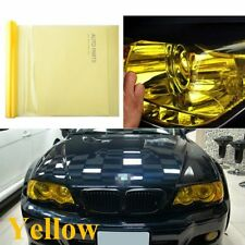 "New listing Car Sticker Smoke Light HeadLight Taillight Yellow Tint Vinyl Film Decal 12""x40"""