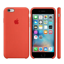 original Apple Silikon Case Tasche Silikon Hülle für iPhone 6 / 6s orange OVP
