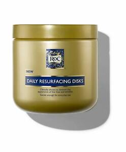 RoC Retinol Correxion Daily Resurfacing Facial Disks Wrinkle Pads Cream Deep