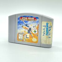 Star Wars Rogue Squadron Nintendo 64 N64 Cart Only Authentic TESTED
