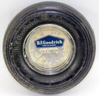 Vintage B.F. Goodrich Silvertown Tire Ashtray ~ Lot #1