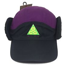2f63e79dd64 Nike ACG Tailwind Cap Sherpa Adjustable Black Purple Hat Ar0497-011 Adult  Unisex