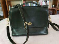 Coach handbags medium used black leather