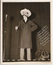 Photo Of Eddie Hudson Performing Medicine Pitch At I.B.M. Convention 1948