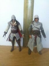 "Assassins Creed 2 - 7"" Action Figures Lot with both Altair & Ezio"