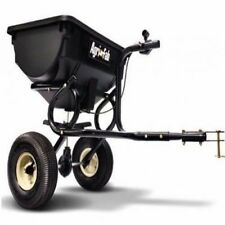 Tow Behind Lawn Spreader Seed ATV Fertilizer Home Salt Hopper Tractor S