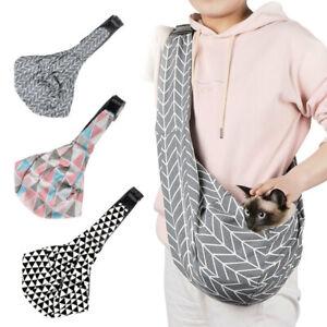 Dog Cat Puppy Pet Carrier Bag Travel Tote Sling Soft Comfortable Shoulder Pouch