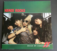 HANOI ROCKS - Dead By Christmas Vinyl 2LP Record VG+ 1986 French Press Double LP
