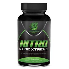 NITRIC OXIDE L-ARGININE XTREME Extreme Build Muscle 60 CAPS moth supply Xtreme