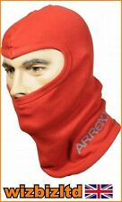 Ski Thermal Cotton Balaclava - Improves Helmet Fit and Comfort (Red) ARROXXBALR