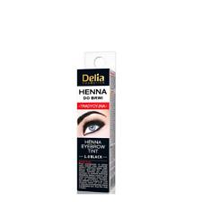 Delia traditionell Henna Profi Qualität Augenbrauen Wimpern 1.0 schwarz 2 ml