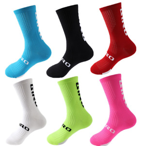 Giro Calf Cycling Socks Unisex Athletic Bicycle Gym Sports Breathable Replica