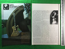 Gibson electric guitar RD77 Artist feature from August 1978
