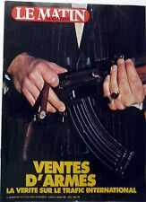 Mag rare 1982: VENTE D'ARMES_CHARLELIE COUTURE_ANICEE ALVINA_KATHERINE PANKOL