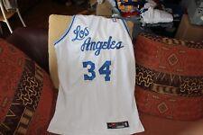 Shaquille O'Neal Nike Los Angeles NBA retro alternative road jersey
