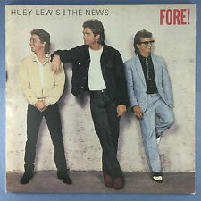 Huey Lewis & The News - Fore! - Chrysalis CDL-1534 Ex Condition