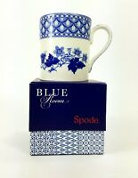 NEW Spode Mug Blue Room Collection Geranium 16 oz Blue and White