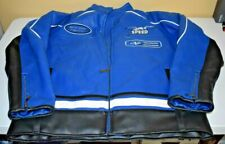 Delf Racing Pro Motorcycle Faux Leather Jacket size XL.