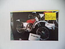 - RITAGLIO DI GIORNALE ANNO 1975 - MOTO TGM 50 CROSS