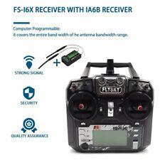 RC Transmitter ! Flysky FS-i6X 2.4GHz 10 Channel AFHDS 2A with FS-iA6B Receiver