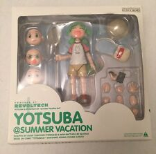 Kaiyodo Yotsubato Yotsuba Revoltech DX summer vacation set Japanese Manga Figure