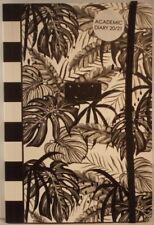 A5 2020 / 21 Academic blank diary black & white 21cm x 14.5cm week to view