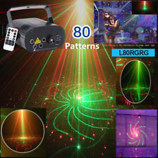 Party Light 5 Lens RG 80 Pattern Lase Beam DJ Home Music  Dance Stage Light