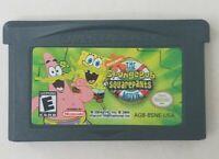 SpongeBob SquarePants Movie, Nintendo Game Boy Advance, 2004, Tested