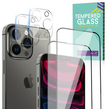 For iPhone 12 11 13 Pro Max Tempered Glass Screen Protector Camera Lens Cover