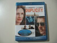 Duplicity (Blu-ray Disc, 2009) Brand New and Sealed