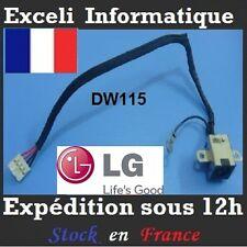 Conector dc jack enchufe alambre de cable DW115 LG R51 R510 R560 R570 R580