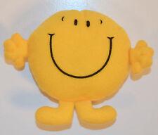 "RARE 1999 Mr Happy 4"" McDonald's EUROPE Plush Stuffed Action Figure Mr Man"