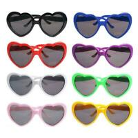 Special Effects Eyeglasses Peach Heart Light Glasses Gifts Creative Women T6O3