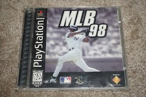 Mlb 98 (Sony Playstation 1 ps1) Complete