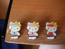 "Hello Kitty 3 Pin Set - 1 1/2"" - Little League World Series Pins"