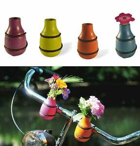 """Fahrradvase / Lenkervase """"Frieda"""" - Vase Buchenholz, Holz, Fahrrad"""