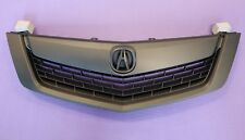ACURA TSX 09-10 Replacement Grill Grille All Black w/ MOULDING w/ Black Emblem