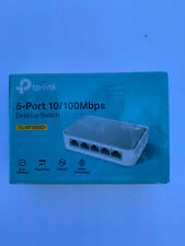 TP-Link TL-SF1005D 5-Port Fast Ethernet 10/100Mbps Unmanaged Desktop Switch