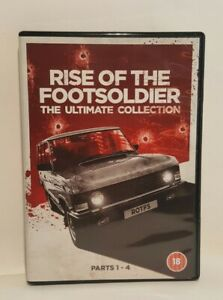 Rise Of The Footsoldier Ultimate Collection DVD Box Set Parts 1 To 4 UK DVD SET