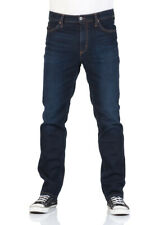 Mustang Herren Jeans Hose Tramper Tapered Fit Blau Rinse Stretch Denim Jeanshose