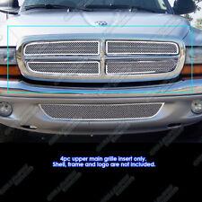 1997-2004 Dodge Dakota/97-2003 Durango Stainless Steel Mesh Grille Grill Insert